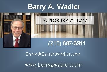 BARRY A. WADLER