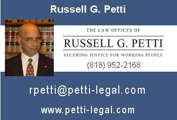RUSSELL GEORGE PETTI