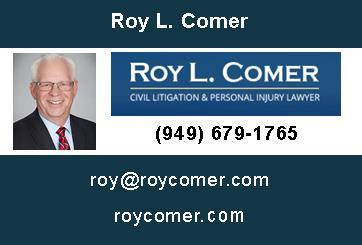 ROY LEE COMER